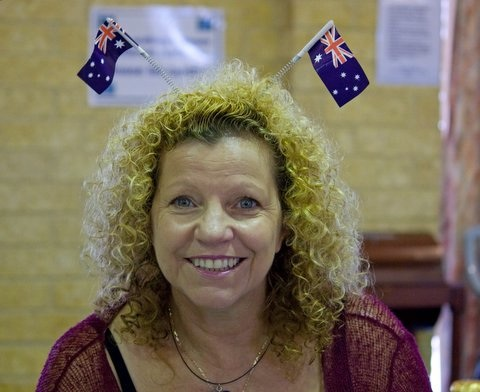 Elizabeth Re on Australia Day 2010