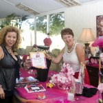 Elizabth Re and Kath Mazzella at Princesses, Petticoats & Pearls Event