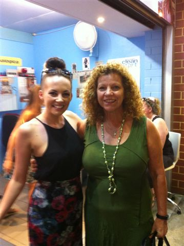 2013 03 05 out and about -  Samantha Jade & Liz