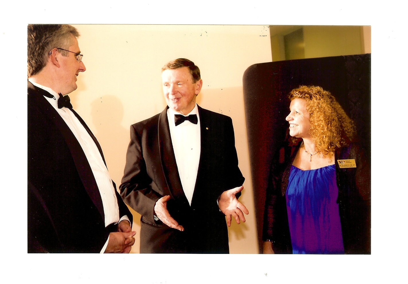 The Governor, Paul Collins, Elizabeth Re 2012