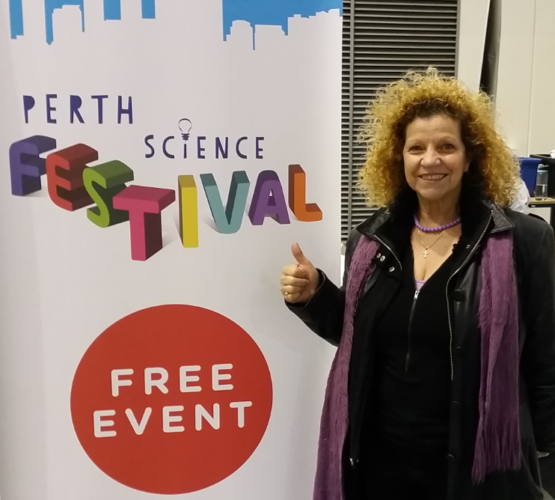 2017 08 11 Elizabeth at Perth Science Festival