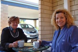 Greenwood Resident, June & Elizabeth Re