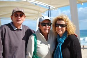 Elizabeth Re with Allen & Eileen Hopkins